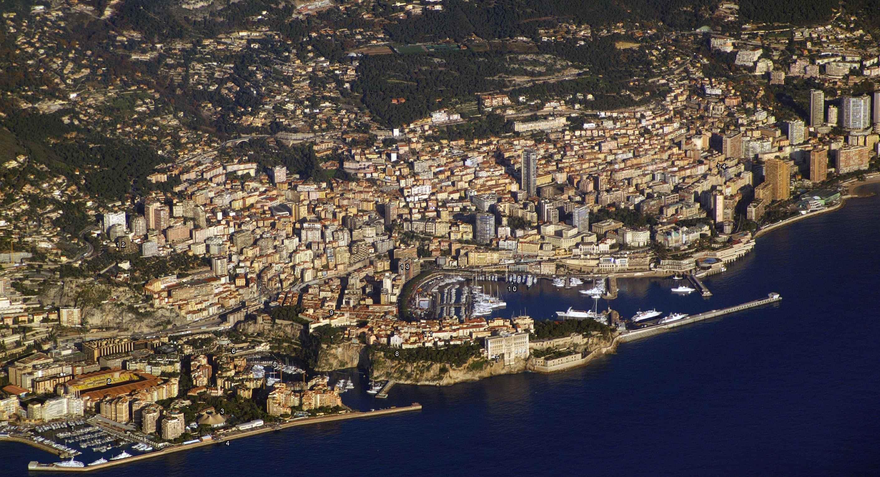 Коммуникации и связь в Монако